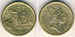 2 Dollar Australien (1939 - ) Bronze/Aluminium