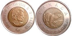 2 Dollar Kanada Bronze/Nickel Elizabeth II (1926-)