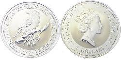 2 Dollar Australia (1939 - ) Silver Elizabeth II (1926-)