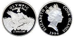 2 Dollar Cook Islands Silver