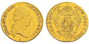 2 Ducat 神圣罗马帝国 (962 - 1806) 金 约瑟夫二世 (神圣罗马帝国) (1741 - 1790)