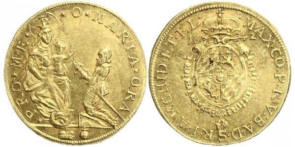 2 Ducat Electorate of Bavaria (1623 - 1806) 金