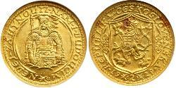 2 Ducat Czechoslovakia (1918-1992) Gold