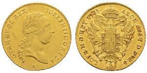 2 Ducat Heiliges Römisches Reich (962-1806) Gold Joseph II, Holy Roman Emperor  (1741 - 1790)