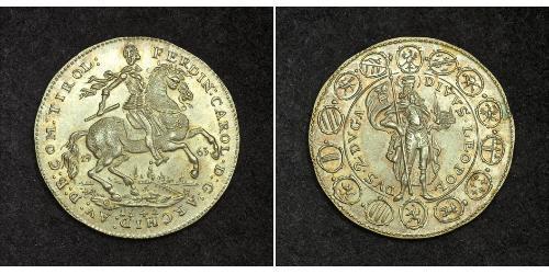 2 Ducat Heiliges Römisches Reich (962-1806) Gold Ferdinand Karl (Österreich-Tirol)