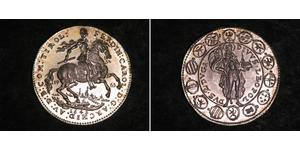 2 Ducat Holy Roman Empire (962-1806) Gold Ferdinand Charles, Archduke of Austria