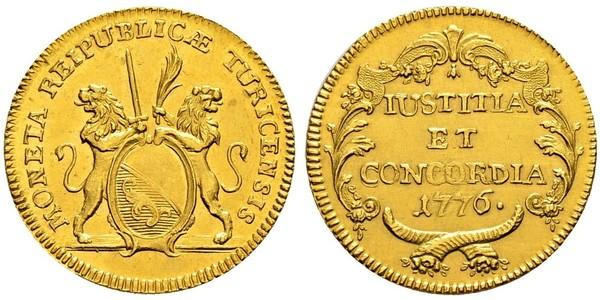 2 Ducat Schweiz Gold