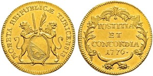 2 Ducat Switzerland Gold