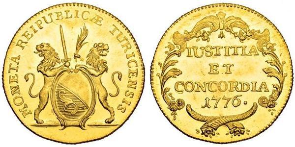 2 Ducat Switzerland Gold
