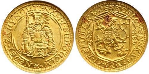 2 Ducat Tschechoslowakei  (1918-1992) Gold