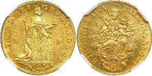 2 Ducat Royaume de Hongrie (1000-1918) Or Maria Theresa of Austria (1717 - 1780)