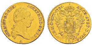 2 Ducat Saint-Empire romain germanique (962-1806) Or Joseph II, Holy Roman Emperor  (1741 - 1790)