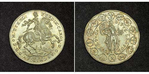 2 Ducat Saint-Empire romain germanique (962-1806) Or Ferdinand-Charles d