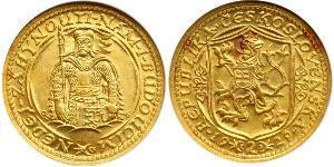 2 Ducat Cecoslovacchia  (1918-1992) Oro