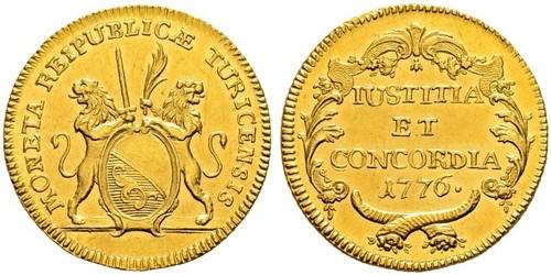 2 Ducat Suiza Oro