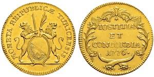 2 Ducat Svizzera Oro