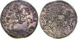 2 Ducaton Repubblica delle Sette Province Unite (1581 - 1795) Argento