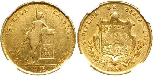 2 Escudo Costa Rica Gold