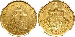 2 Escudo Costa Rica Oro