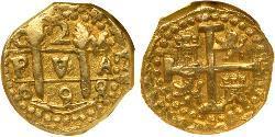 2 Escudo Perú Oro Carlos II de España (1661-1700)