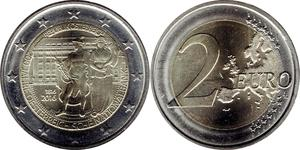 2 Euro 奥地利 镍