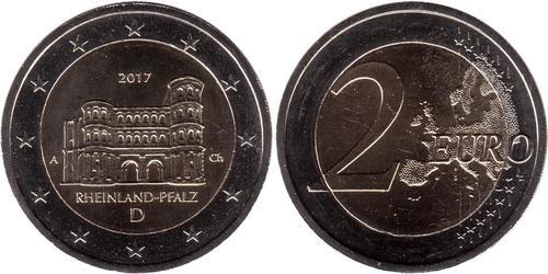 2 Euro 德国 镍
