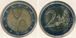 2 Euro Finland (1917 - ) Bimetal