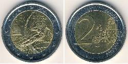 2 Euro Italy Bimetal