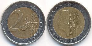 2 Euro Kingdom of the Netherlands (1815 - ) Bimetal