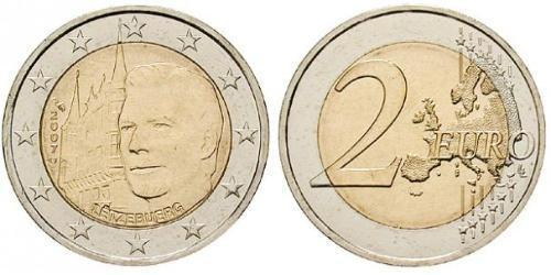 2 Euro Luxemburgo Bimetal