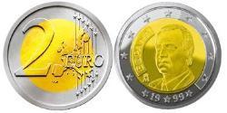 2 Euro Reino de España (1976 - ) Bimetall