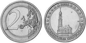 2 Euro Federal Republic of Germany (1990 - ) Copper/Nickel