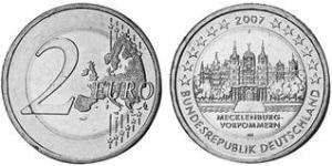 2 Euro Federal Republic of Germany (1990 - ) Copper/Nickel