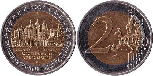 2 Euro Bundesrepublik Deutschland  (1990 - ) Kupfer/Nickel