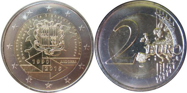 2 Euro Andorra Nichel