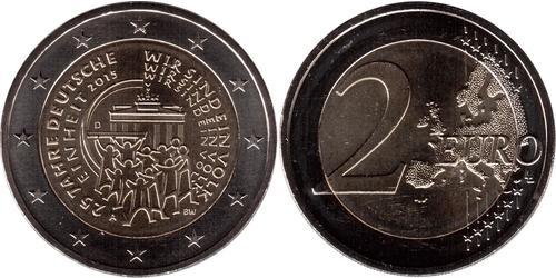 2 Euro Repubblica Federale di Germania (1990 - ) Nichel