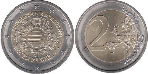 2 Euro Allemagne (1990 - ) Nickel