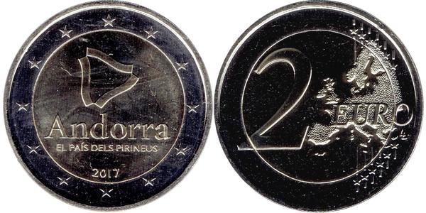 2 Euro Andorra Nickel
