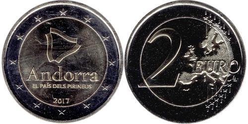 2 Euro Andorre Nickel
