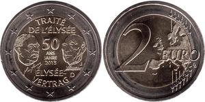 2 Euro Federal Republic of Germany (1990 - ) Nickel