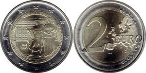 2 Euro Republik Österreich (1955 - ) Nickel