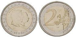 2 Euro 卢森堡