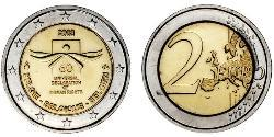 2 Euro Bélgica