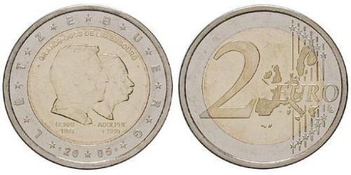2 Euro Lussemburgo