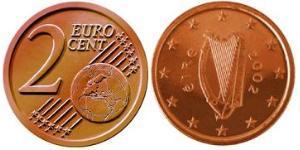 2 Eurocent Ireland (1922 - ) Steel/Copper