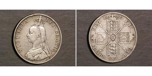 2 Florin United Kingdom of Great Britain and Ireland (1801-1922) Silver Victoria (1819 - 1901)