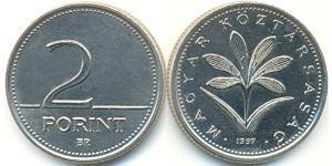 2 Forint Repubblica Popolare d
