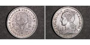 2 Franc France Argent