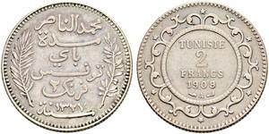 2 Franc Tunisie Argent