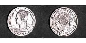 2 Franc Francia Argento